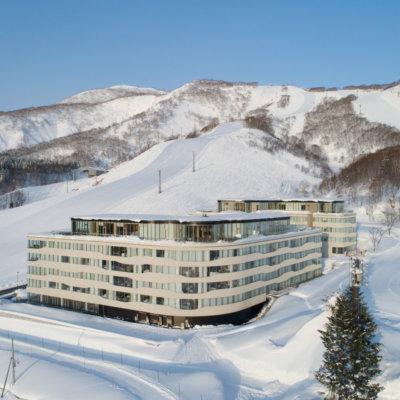 Niseko's best location, on the slopes.