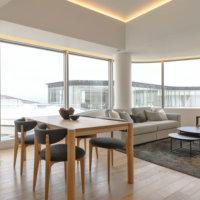 702 Living/Kitchen Area