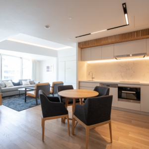 Skye Niseko 1 Bedroom Interior Living Room Apt 669 Low Res 1