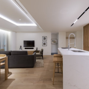 2 Bedroom Living Kitchen