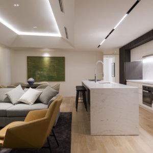 3 Bedroom Living Kitchen