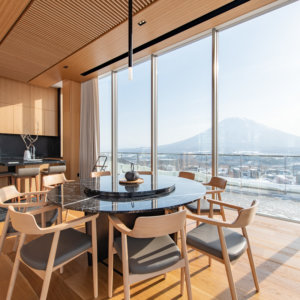 Picture yourself in a Skye Niseko penthouse suite.