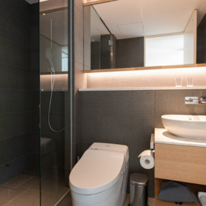 Skye Niseko 1 Bedroom Interior Bathroom Apt 669 Low Res 2