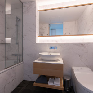 Skye Niseko 4 Bedroom Interior Bathroom Low Res 3