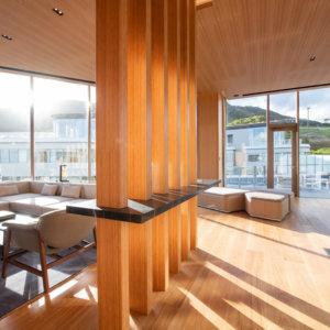 Skye Niseko Yotei East Penthouse Living Room Summer Low Res 5