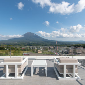 Yotei West Penthouse Balcony