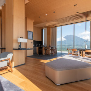 Yotei West Penthouse Living Room