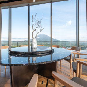 Yotei West Penthouse Interior Dining Room