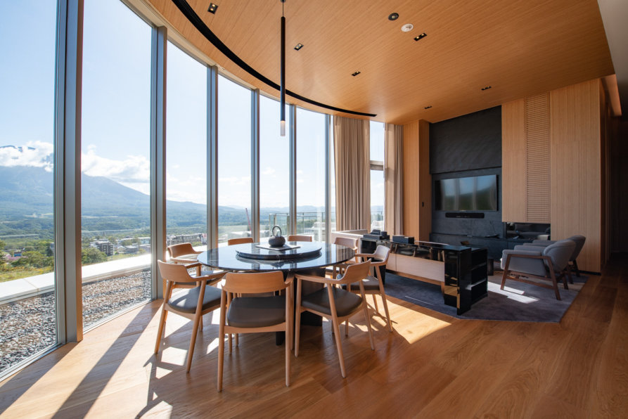 Skye Niseko Yotei South Penthouse Interior Living Summer Low Res 6